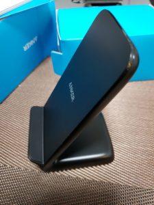 スマホ(Galaxy S9)の充電はANKERのワイヤレス充電器(急速)で! 2