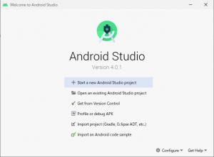 Android Studio 4.0.1のインストール 2