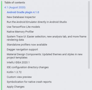 Android Studio 4.1へバージョンアップ 4