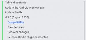 Android Studio 4.1へバージョンアップ 5